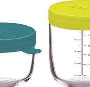 Beaba Glass storage pot 2 pieces Neo