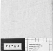 Meyco Fitted sheet white several sizes