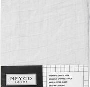 Meyco Hydrofiel hoeslaken wit diverse maten