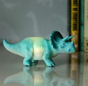 Disaster Design Mini LED lamp TURQUOISE TRICERATOPS