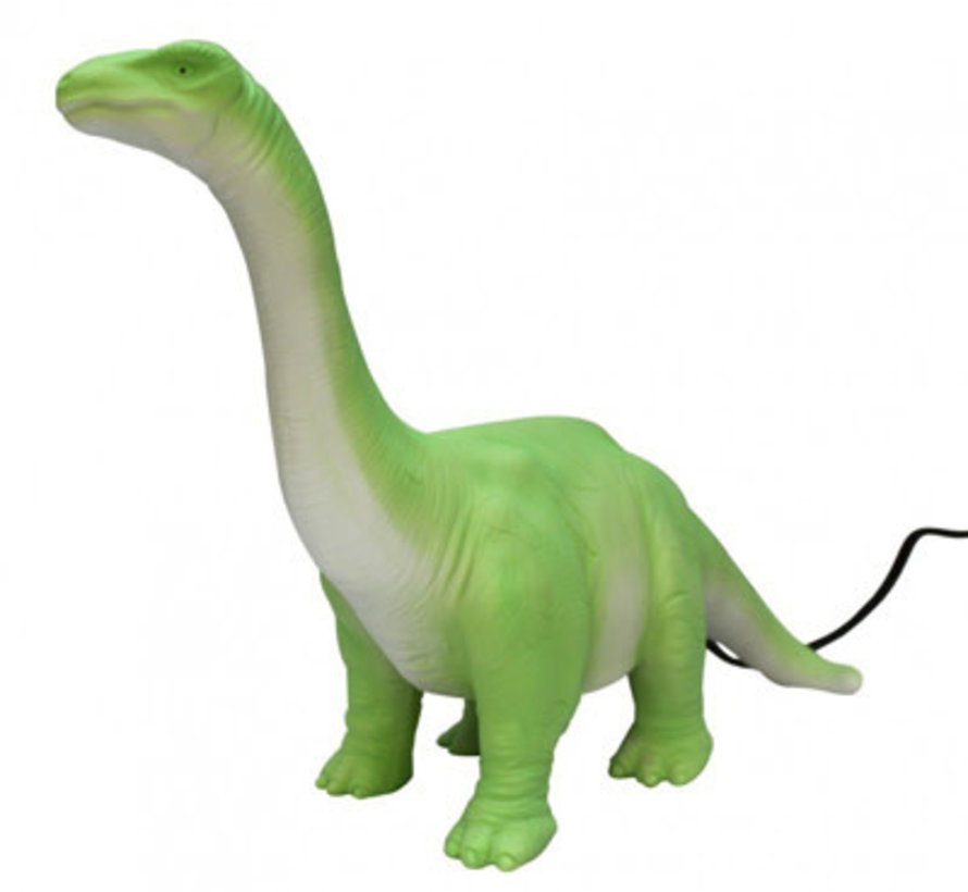 LED lamp groene diplodocus