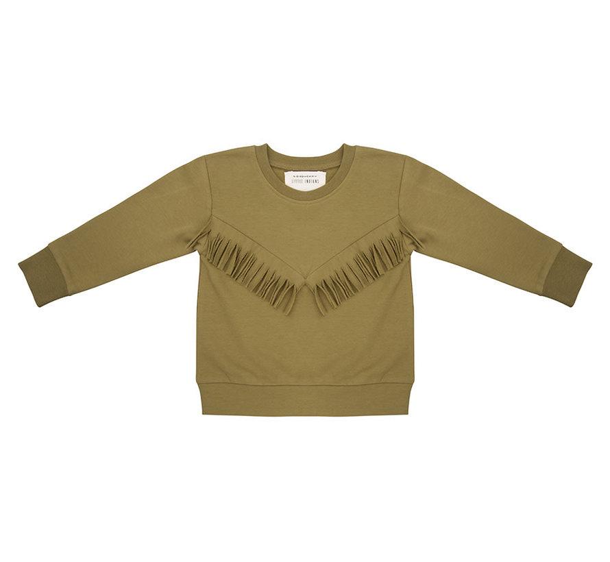 Sweater Boho Olive