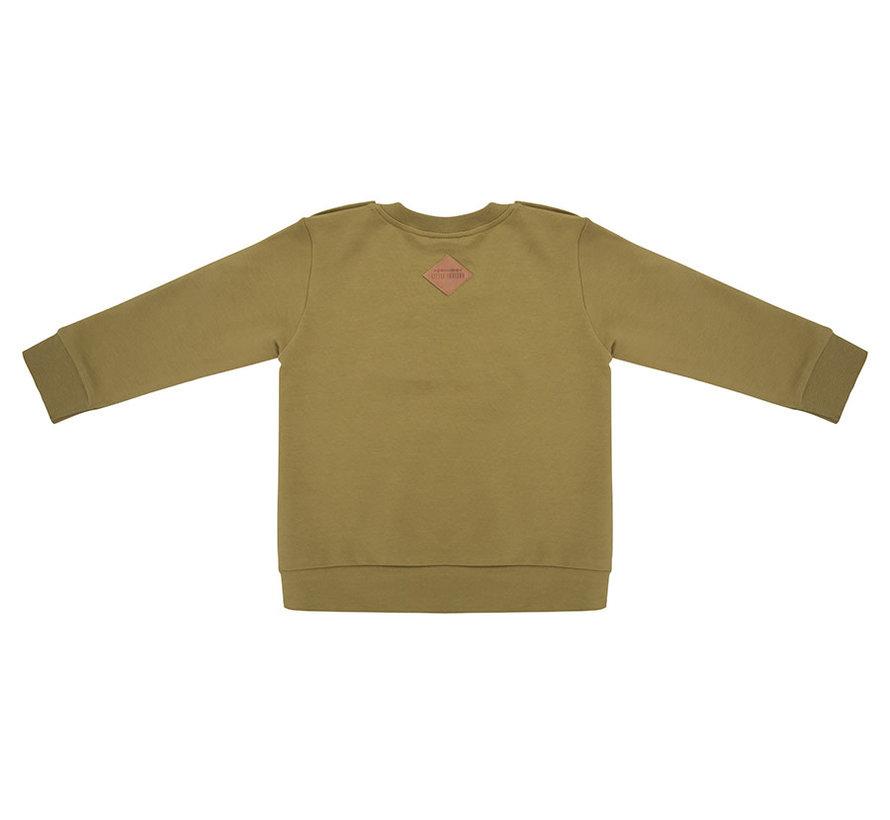Sweater tres bien olive