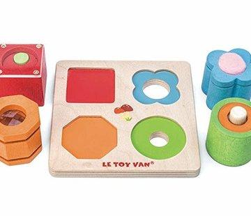 Le toy van Sensory toy 4 pcs petitlou