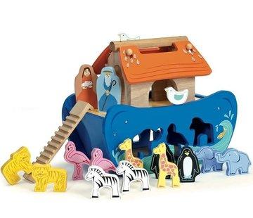 Le toy van Noah shape sorter arch