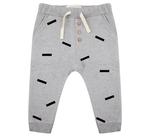 Little Indians Pants Strokes Grey