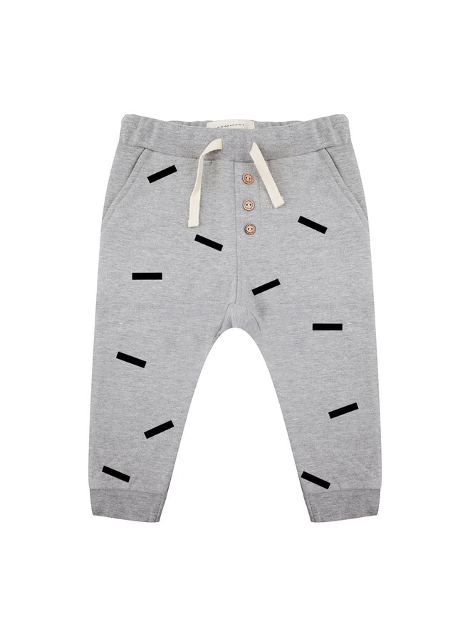 Pants Strokes Grey
