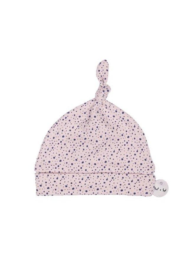Babymuts roze dots