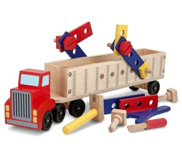 Melissa & Doug Building truck Wood 3+
