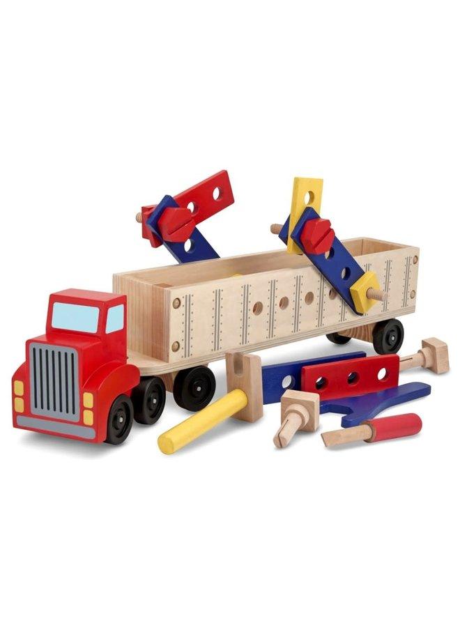 Vrachtwagen bouwspeelgoed 3+