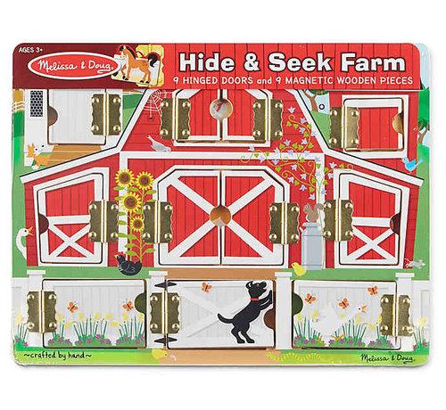 Melissa & Doug Hide & Seek Farm magnetisch