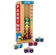 Melissa & Doug Stack & Count Parking Garage 3+