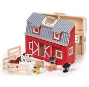 Melissa & Doug Fold & Go Barn 3+