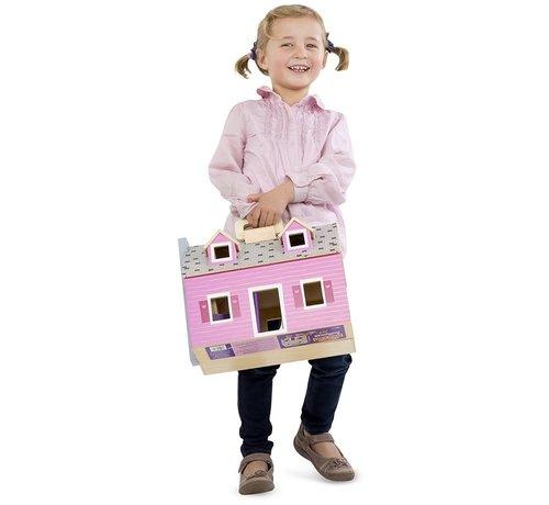 Melissa & Doug Fold & Go Dollhouse 3+