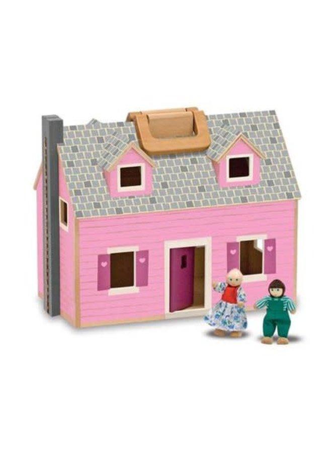 Fold & Go Dollhouse 3+