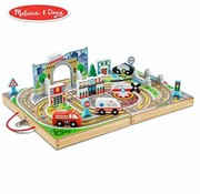 Melissa & Doug Take-Along speelset stad 3+