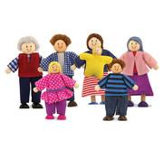 Melissa & Doug Doll Family 3+