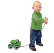 Melissa & Doug Frolicking Frog Pull Toy / Trekdier kikker