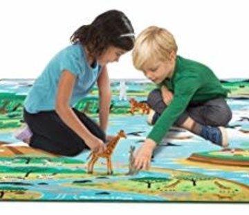 Melissa & Doug Jumbo Habitat Activity rug 147-200