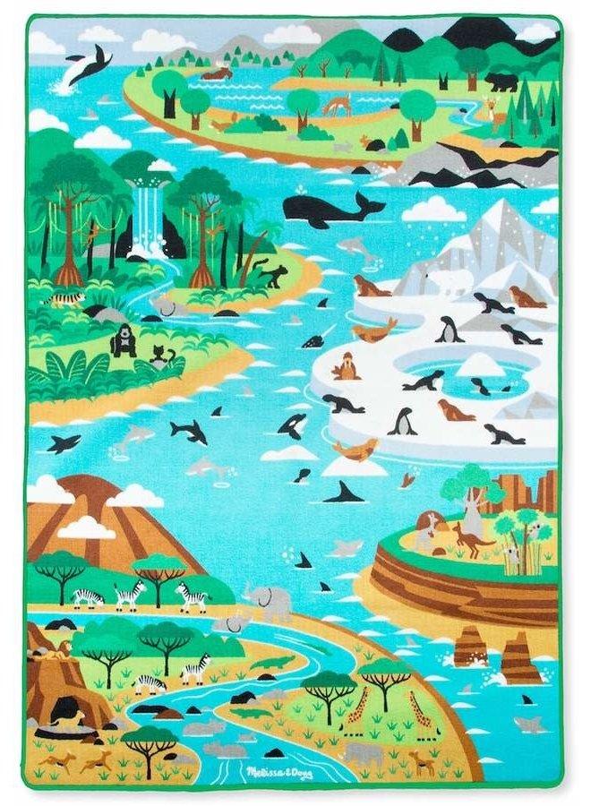 Jumbo Habitat Activity rug 147-200