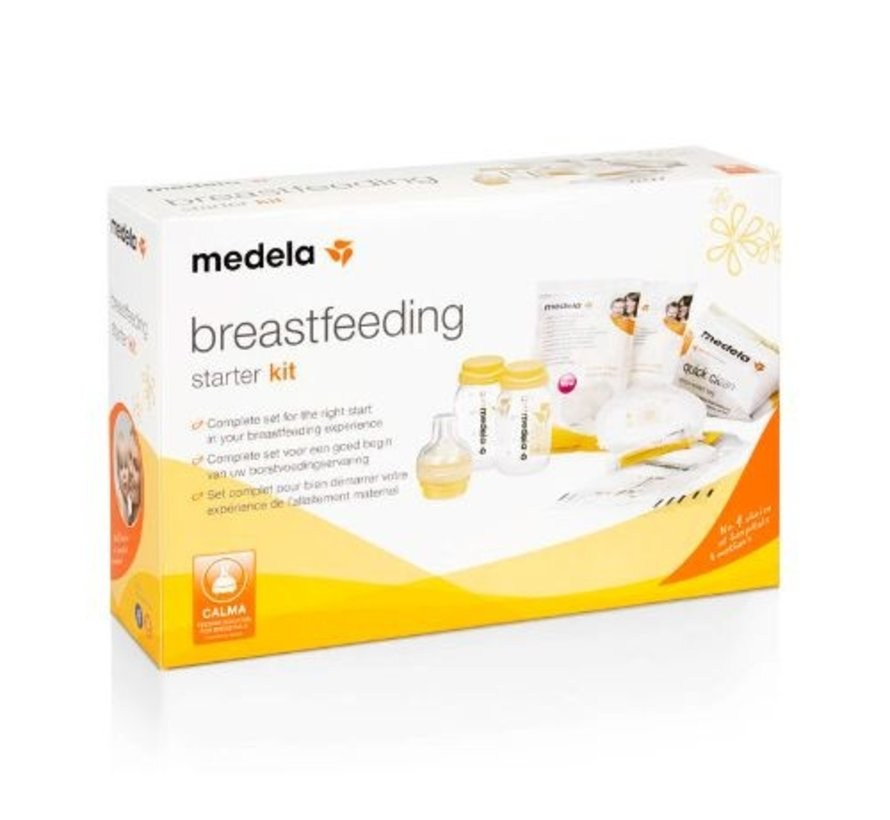 Medela breastfeeding starterskit