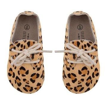 Little Indians Booties Leopard