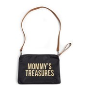 Childhome Copy of Verzorgingszak, mommy clutch, black/gold