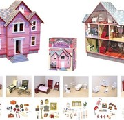 Melissa & Doug Victorian doll house (without furniture)