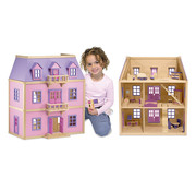 Melissa & Doug Doll's house with furnishings