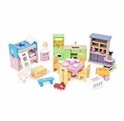 Le toy van Startset furniture doll house