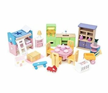 Le toy van Startset furniture doll house