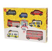 Le toy van Car set New York