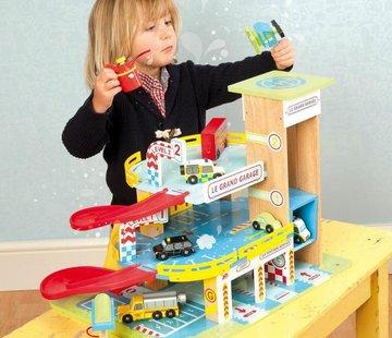 Le toy van Le grand garage