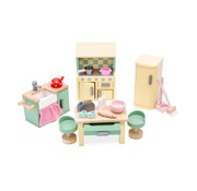 Le toy van Doll's house kitchen