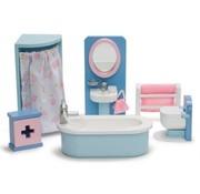 Le toy van Doll's house bathroom
