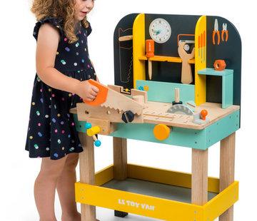 Le toy van Alex workbench