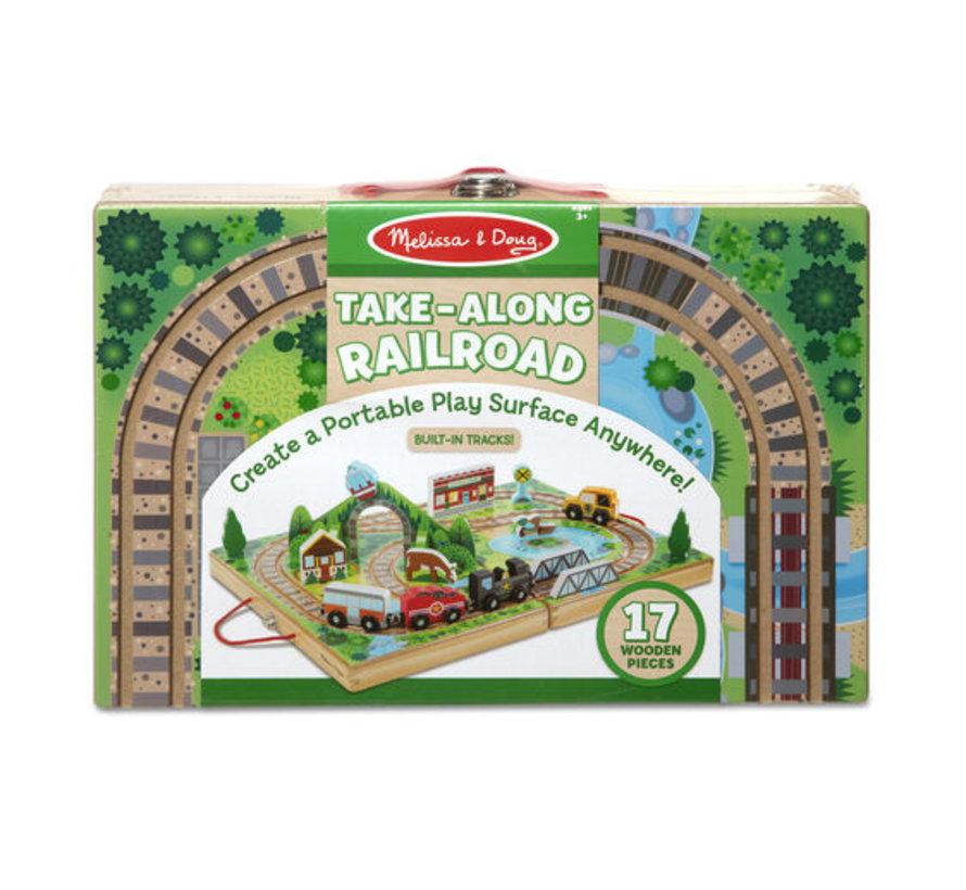 Take-Along Railroad (spoorweg) 3+