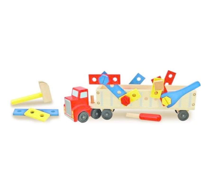 Building truck Wood 3+
