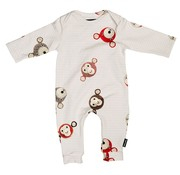 snurk Pyjama Teddy & Chimp