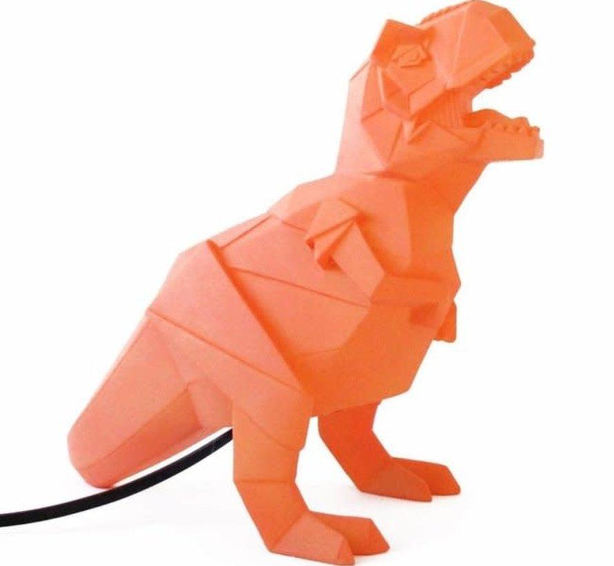 Lamp Oranje Dinosaurus