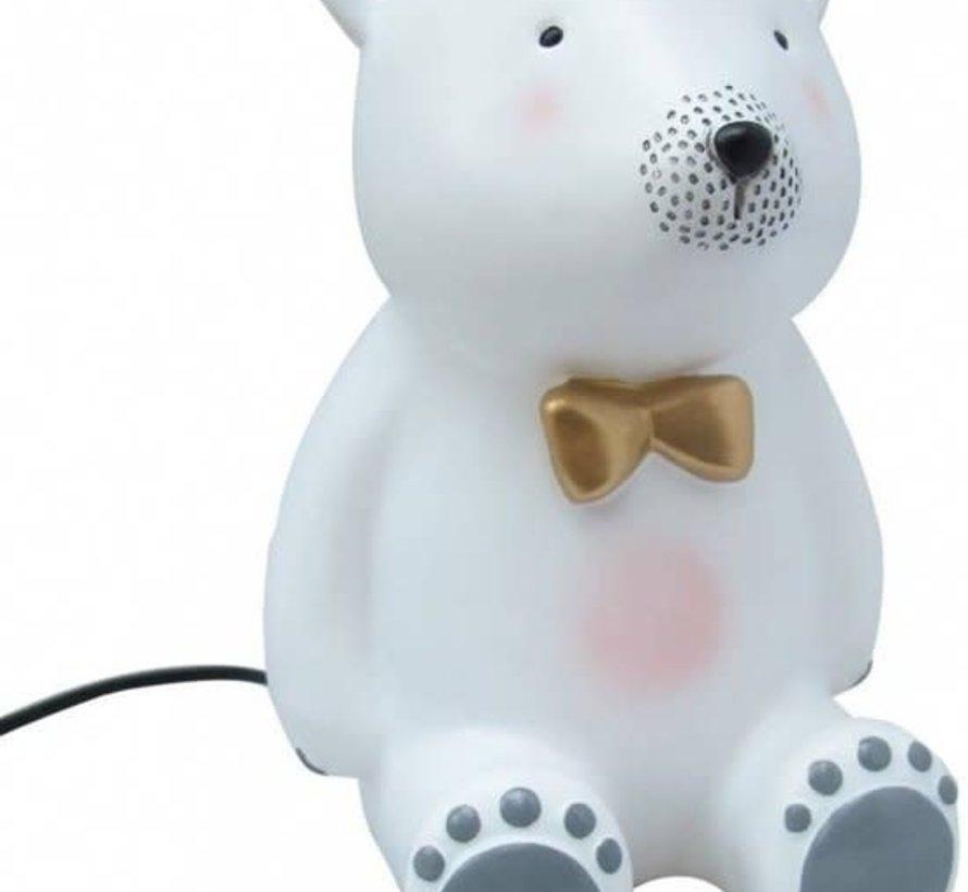 Lamp Teddy met strik