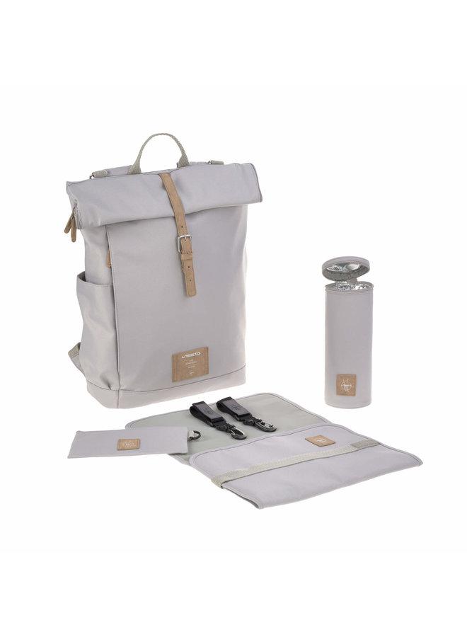 Rolltop Backpack Gray