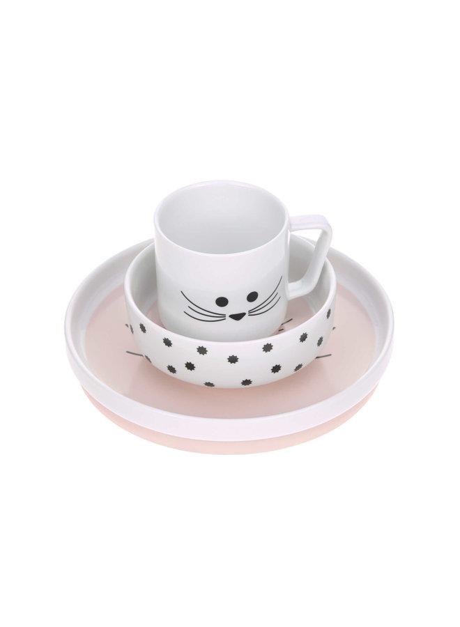 Porceleinen kinderservies