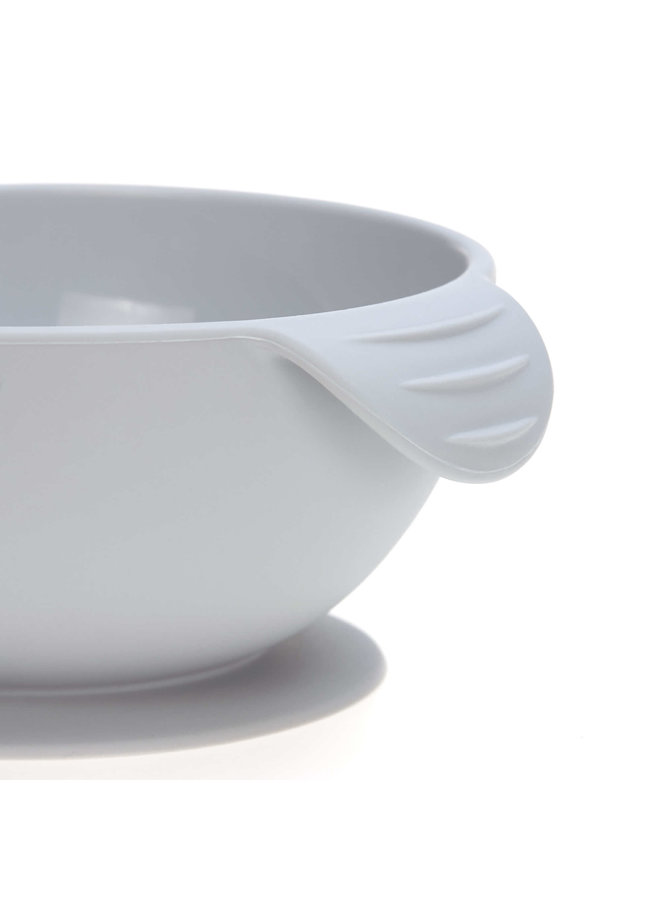 Silicone bowl stick grey