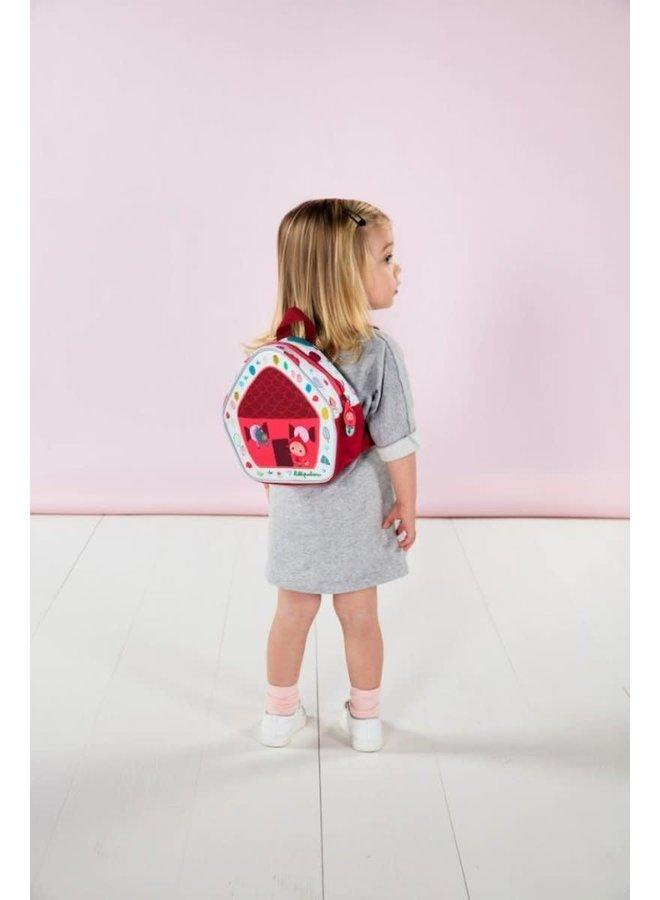 Mini backpack red riding hood