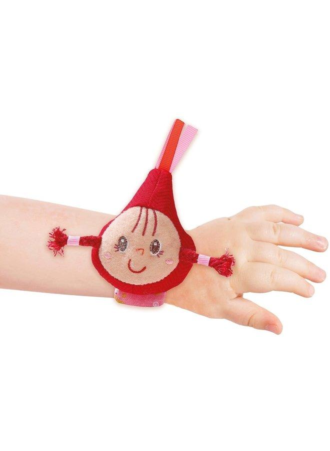 Bracelet rattle red riding hood