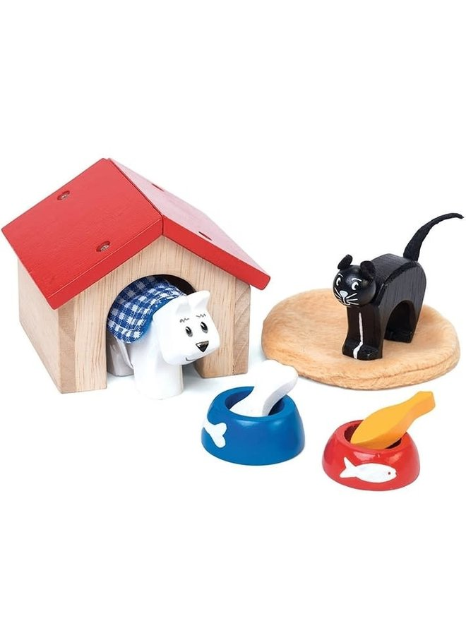 Poppenhuis accessoire dieren