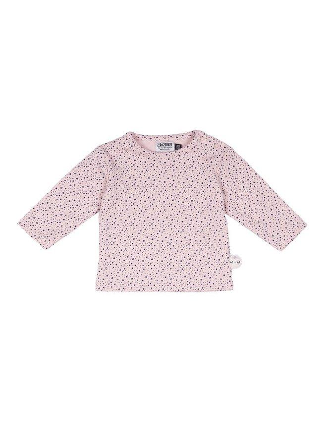 Shirt pink dots