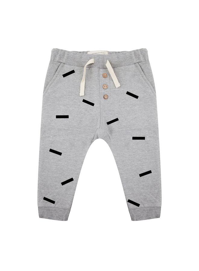 Pants Strokes Grey