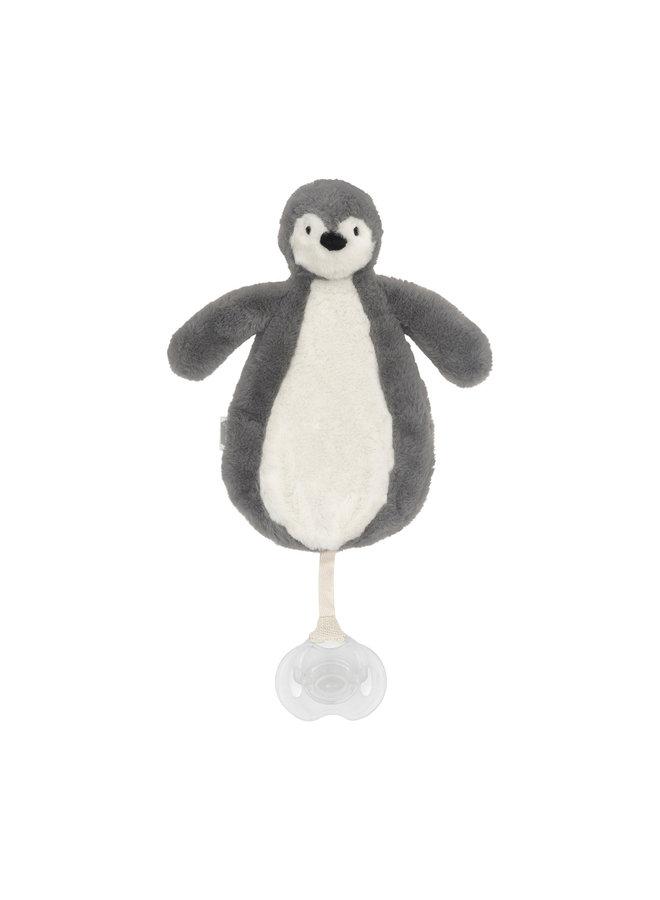 Pacifier cloth penguin